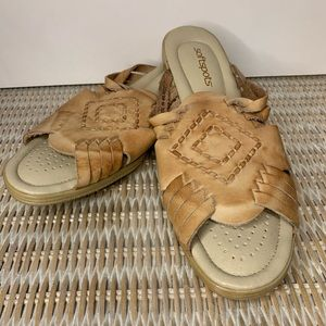 Softspots Leather Sandals Made in Mexico